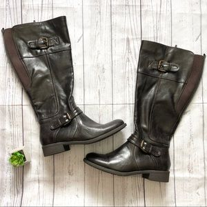BareTraps Dark Brown Tall Ronna Boots